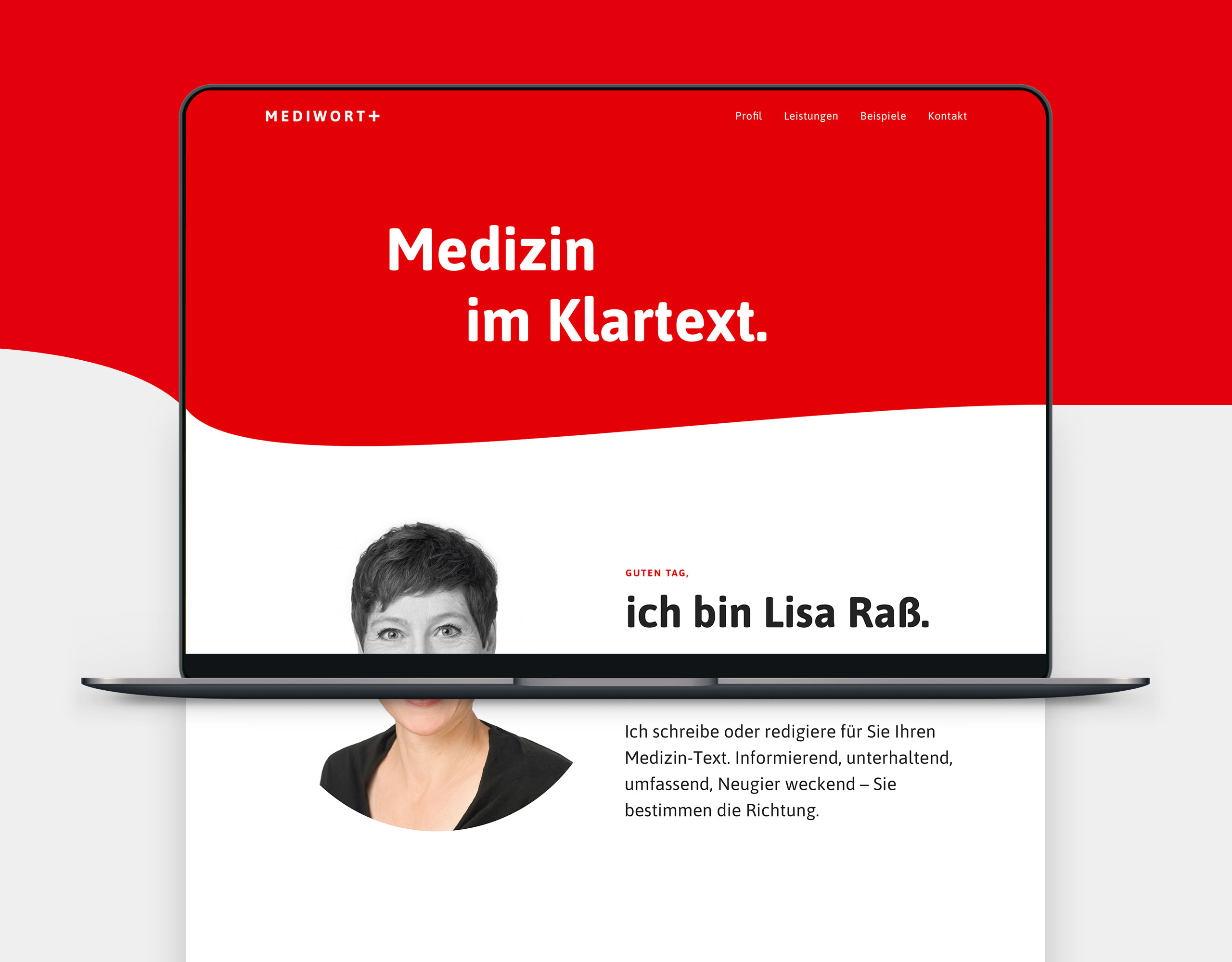 mediwort webdesign 1 laptop