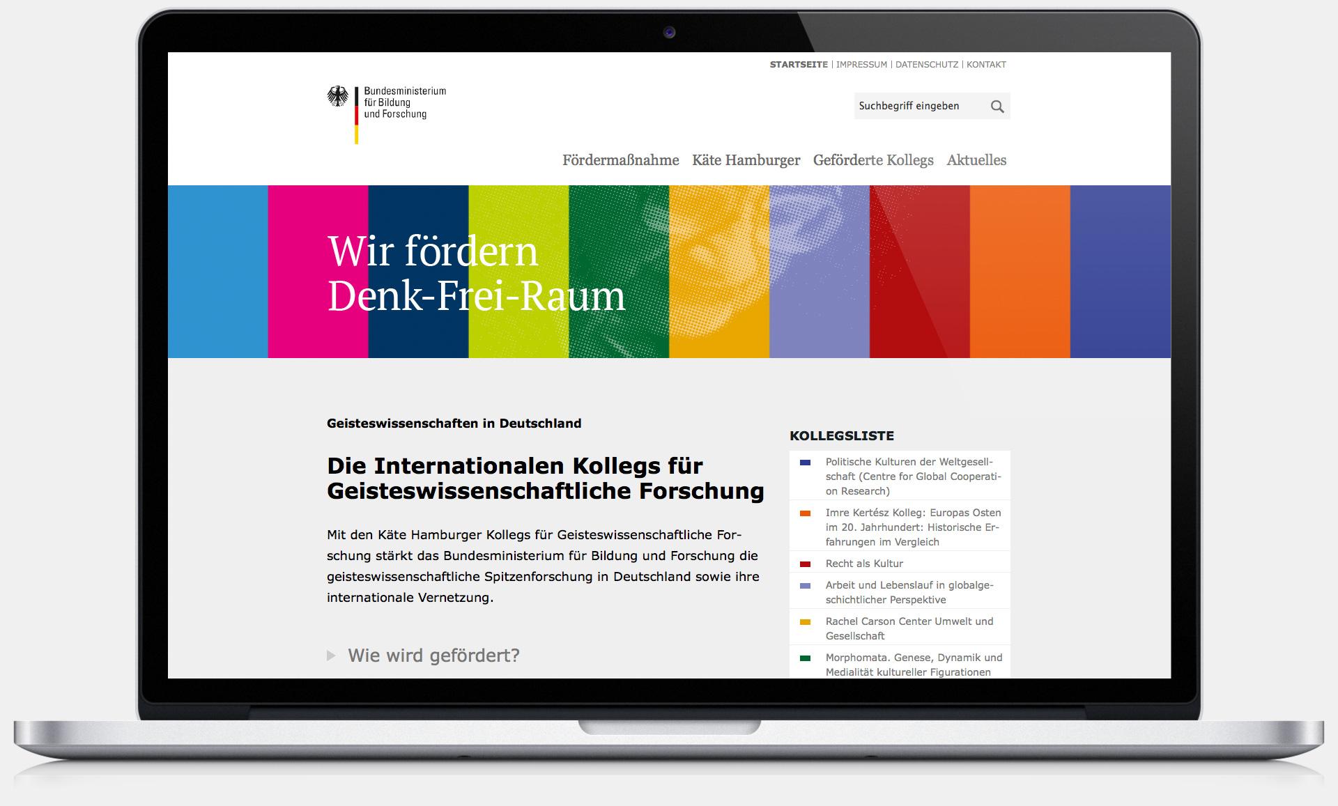 Käte Hamburger Kollegs - Website