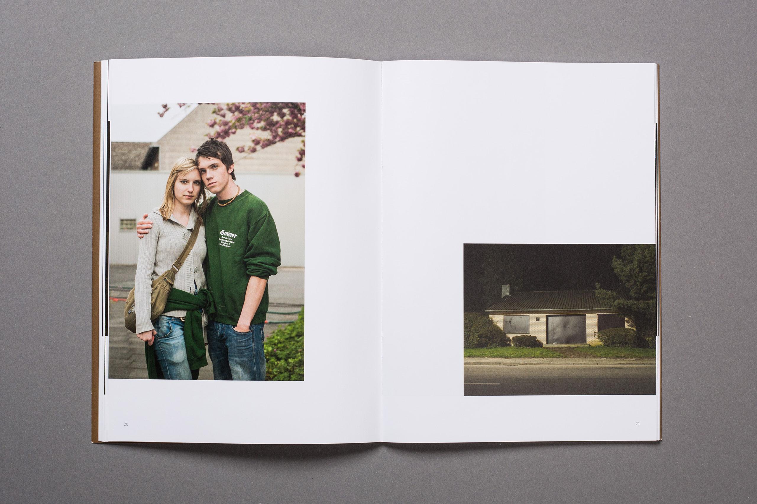 Revier Fotoband, Beispiel Innenseite